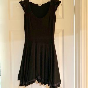 Vintage Black Miu Miu Sexy Mini Dress